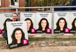 Valgplakater for Mette Annelie Rasmussen